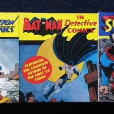 Cómics: SUPERMAN Y BATMAN: THE COMPLETE COVERS OF THE FIRST YEARS. INGLES ABBEVILLE 1993. Lote 214005431