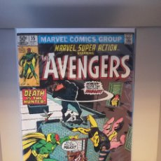 Cómics: MARVEL SUPER ACTION STARRING - THE AVENGERS NUMERO 35. Lote 214035160