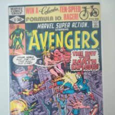 Cómics: MARVEL SUPER ACTION STARRING - THE AVENGERS NUMERO 37. Lote 214035461