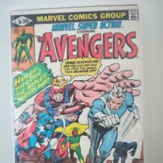 Cómics: MARVEL SUPER ACTION STARRING - THE AVENGERS NUMERO 36. Lote 214035541