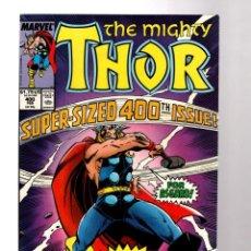 Cómics: THOR 400 - MARVEL 1989 VFN/NM GIANT SIZE ANNIVERSARY / DEFALCO & FRENZ. Lote 214084490