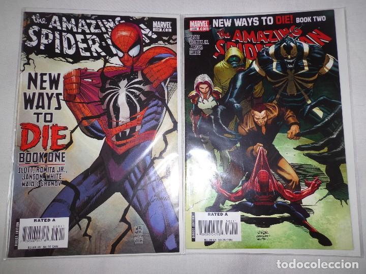 AMAZING SPIDER-MAN #568-569 (Tebeos y Comics - Comics Lengua Extranjera - Comics USA)