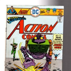 Cómics: ACTION COMICS 455 SUPERMAN, GREEN ARROW & ATOM - DC 1976 FN. Lote 214355062