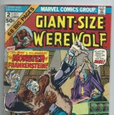 Cómics: WEREWOLF BY NIGHT GIANT SIZENº 2 (OCT 1974). ORIGINAL MARVEL. MUY BUEN ESTADO. 64 PAGS. Lote 214458057