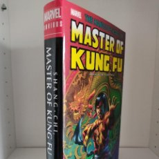 Cómics: THE HANDS OF SHANG-CHI, MASTER OF KUNG FU VOLUMEN 2 - OMNIBUS MARVEL. Lote 214507350