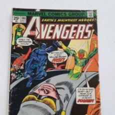 Cómics: THE AVENGERS N-140 USA AÑO 1975 COMO SE VE EN LAS FOTOS. Lote 214964322