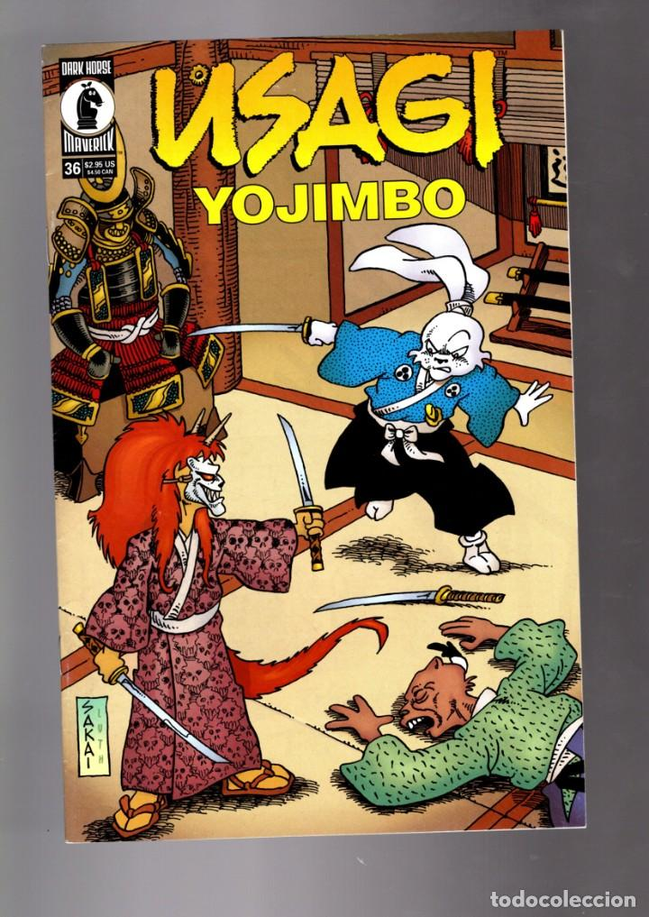 USAGI YOJIMBO 36 - DARK HORSE 2000 VFN/NM (Tebeos y Comics - Comics Lengua Extranjera - Comics USA)