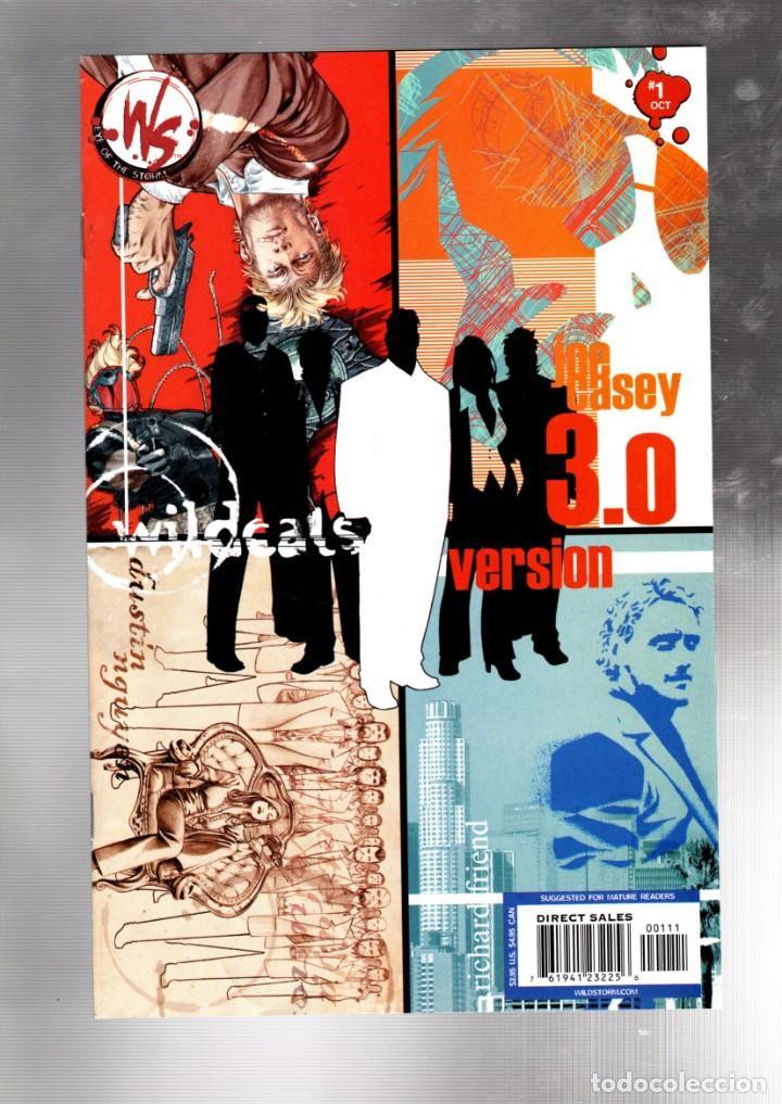 WILDCATS VERSION 3.0 1 - WILDSTORM 2002 VFN/NM (Tebeos y Comics - Comics Lengua Extranjera - Comics USA)