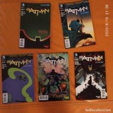 Cómics: BATMAN THE NEW 52 #30-34 ZERO YEAR FINAL ACT, ORIGINAL DC USA COMICBOOK. Lote 215136100
