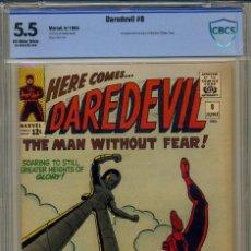 Cómics: DAREDEVIL# 8 CBCS 5.5 DE 1965. Lote 215255671