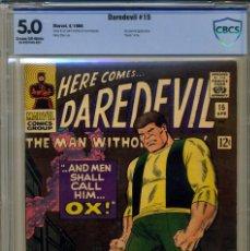 Cómics: DAREDEVIL# 15 CBCS 5.0 DE 1966. Lote 215256230