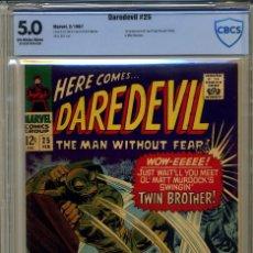 Cómics: DAREDEVIL# 25 CBCS 5.0 DE 1967. Lote 215256587