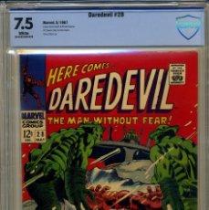 Cómics: DAREDEVIL# 28 CBCS 7.5 DE 1967. Lote 215256632