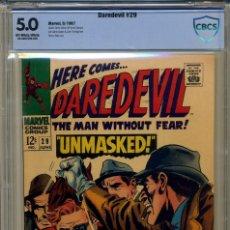 Cómics: DAREDEVIL# 29 CBCS 5.0 DE 1967. Lote 215256732