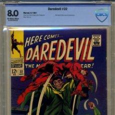 Cómics: DAREDEVIL# 32 CBCS 8.0 DE 1967. Lote 215256912