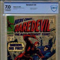 Cómics: DAREDEVIL# 35 CBCS 7.0 DE 1967. Lote 215257048