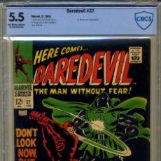 Cómics: DAREDEVIL# 37 CBCS 5.5 DE 1968. Lote 215257227