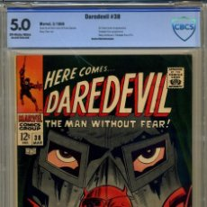 Cómics: DAREDEVIL# 38 CBCS 5.0 DE 1968. Lote 215257806