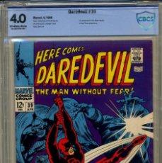 Cómics: DAREDEVIL# 39 CBCS 4.0 DE 1968. Lote 215258002