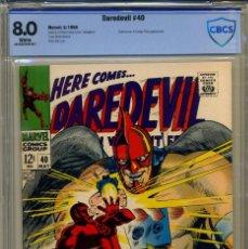 Cómics: DAREDEVIL# 40 CBCS 8.0 DE 1968. Lote 215258058