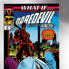 Cómics: WHAT IF 2 DAREDEVIL KILLED THE KINGPIN - MARVEL 1989 VFN / BORN AGAIN / GREG CAPULLO. Lote 215648567
