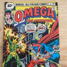 Comics: OMEGA THE UNKNOWN 3 (UK) SKRENES GERBER MOONEY 1976 VG. Lote 215751268