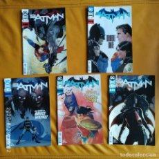 Cómics: DC UNIVERSE REBIRTH BATMAN: SUPERFRIENDS + THE ORIGIN OF BRUCE WAYNE, NOS 36 A 40 DC USA EN INGLÉS. Lote 215800980
