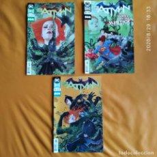 Cómics: DC UNIVERSE REBIRTH BATMAN: EVERYBODY LOVES IVY, NOS 41 A 43 DC USA EN INGLÉS. Lote 215801205