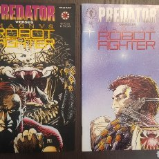 Cómics: COMICS - PREDATOR VS. MAGNUS ROBOT FIGHTER (1992) - PORTADAS DE BARRY SMITH, INTERIOR DE LEE WEEKS. Lote 216446375