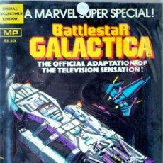 Cómics: BATTLESTAR GALACTICA - MARVEL SUPER SPECIAL (1978). Lote 216675145