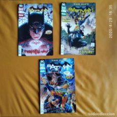 Cómics: DC UNIVERSE REBIRTH BATMAN: THE GIFT, NOS. 45 A 47 DC USA EN INGLÉS. Lote 216787053