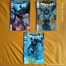 Cómics: DC UNIVERSE REBIRTH BATMAN: BEASTS OF BURDEN, NO. 55 A 57 DC USA EN INGLÉS. Lote 216787871