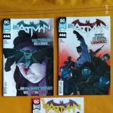 Cómics: DC UNIVERSE REBIRTH BATMAN: THE TYRANT WING, NO. 58 A 60 DC USA EN INGLÉS. Lote 216788126
