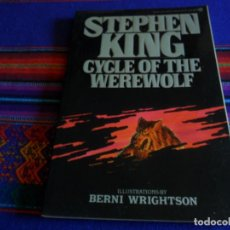 Cómics: STEPHEN KING, CYCLE OF THE WEREWOLF ILLUSTRATIONS BY BERNI WRIGHTSON. FIRST SIGNET PRINTING 1985 MBE. Lote 216838758