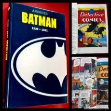"Cómics: ARCHIVES BATMAN 1939 - 1941 - BOB KANE - SEMIC-DC-""TRÈS BON ÉTAT - COMME NEUF""-IMPECABLE-304 PAGINAS. Lote 216849375"