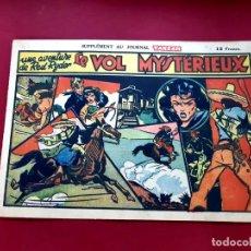 Cómics: SUPPLÉMENT TARZAN Nº 211 -RED RYDER-1947--FRANCES-EXCELENTE ESTADO-20 X 28.50. Lote 216856938