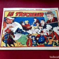 Cómics: SUPPLÉMENT TARZAN Nº 237 -RED RYDER-1947--FRANCES-EXCELENTE ESTADO-20 X 28.50. Lote 216857220