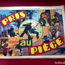 Cómics: LES BELLES AVENTURES Nº 143 - RECIT COMPLET-1948-TRÈS BON ÉTAT - 22 X 32 CMS. Lote 216859036