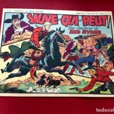 Cómics: LES BELLES AVENTURES Nº 34 RED RYDER- RECIT COMPLET-1948-TRÈS BON ÉTAT - 22 X 32 CMS. Lote 216859263