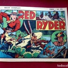 Cómics: LES BELLES AVENTURES Nº 34 RED RYDER- RECIT COMPLET-1945-TRÈS BON ÉTAT - 22 X 32 CMS. Lote 216859682