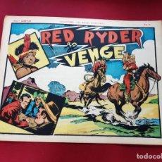 Cómics: LES BELLES AVENTURES Nº 207 RED RYDER- RECIT COMPLET-1947-TRÈS BON ÉTAT - 22 X 32 CMS. Lote 216859908