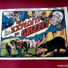 Cómics: LES BELLES AVENTURES Nº 2 RED RYDER- RECIT COMPLET-1948-TRÈS BON ÉTAT - 22 X 32 CMS. Lote 216860077