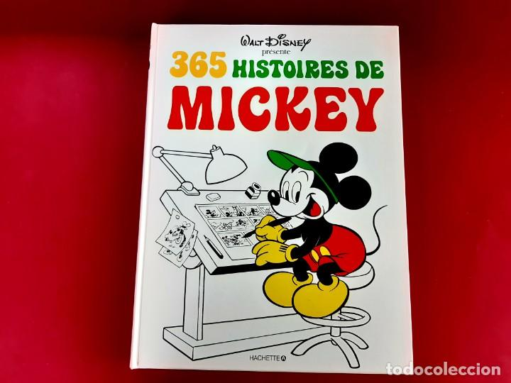 Cómics: WALT DISNEY 365 HISTORIES DE MICKEY 1978 NEUF IMPECABLE ESTADO FRANCES - Foto 2 - 216862728