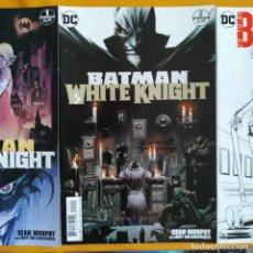 Cómics: BATMAN WHITE KNIGHT - DC USA EN INGLÉS - MINI SERIE DE 8 NÚMEROS COMPLETA. Lote 216868190