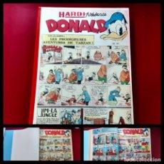 Cómics: DONALD 1952 PUBLICATIÓN HEBDOMAIRE GRAN FORMATO ENCUADERNACIÓN Nº 262 AL 286. Lote 216896687