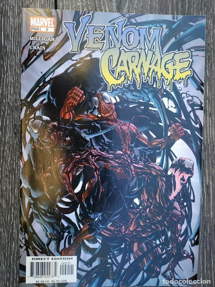 VENOM VS CARNAGE #2 (Tebeos y Comics - Comics Lengua Extranjera - Comics USA)