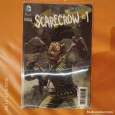 Cómics: BATMAN DETECTIVE COMICS THE NEW 52 23.3 THE SCARECROW - PORTADA Y CONTRAPORTADA 3D LENTICULARES. Lote 217854920