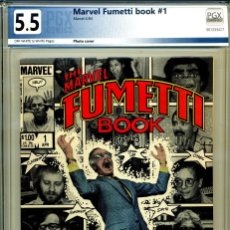 Comics : THE MARVEL FUMETTI BOOK# 1 PGX 5.5. Lote 218394722