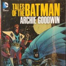 Cómics: TALES OF THE BATMAN - ARCHIE GOODWIN - TOMO PRECINTADO - EN INGLES -. Lote 218593736
