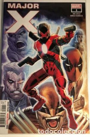 Cómics: MAJOR-X FULL RUN 1-6+#0 (HIGH GRADE, NM) MARVEL ROB LIEFELD - Foto 2 - 218624981